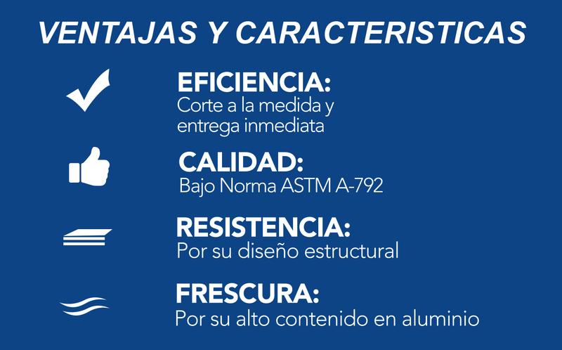 Perfiles_Invercalma_Didelco_ZinCalor_Techos_construcción_El Salvador