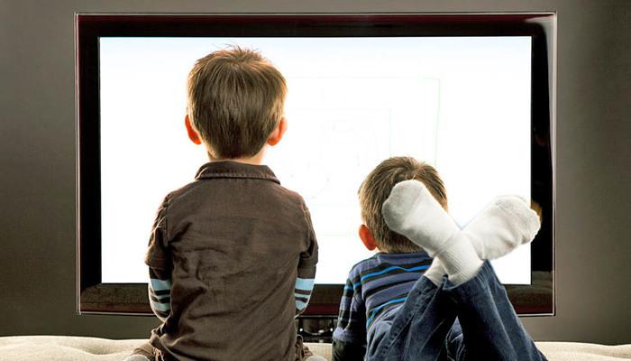 La luz azul de las pantallas y los niños